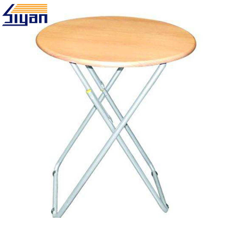 Wooden Adjustable Table Top / Round MDF Table Top For Home Study Desk